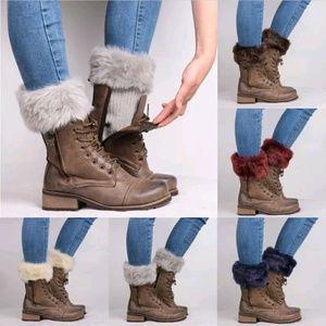 Faux Fur Boot Toppers BOGO SALE